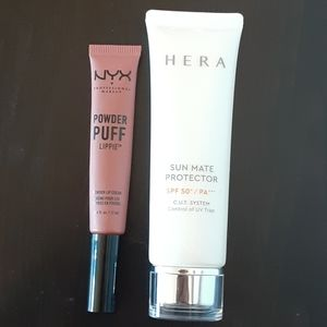 Lipstick and cream.$18 for both.